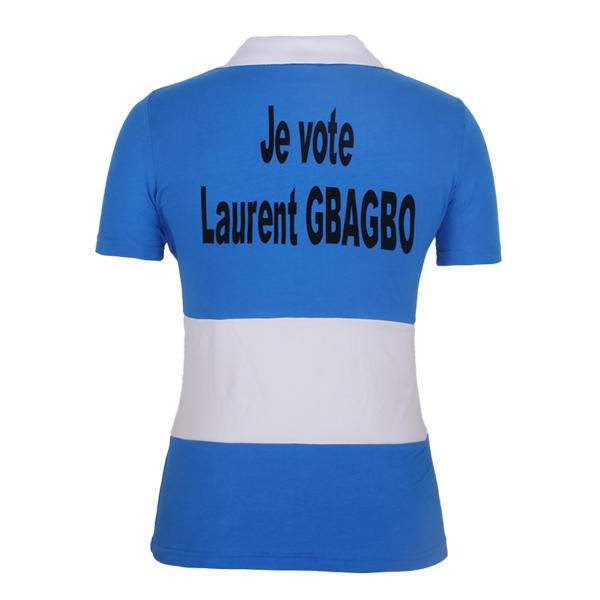 election polo ladies 2000 Coate d Ivoire laurent gbagbo