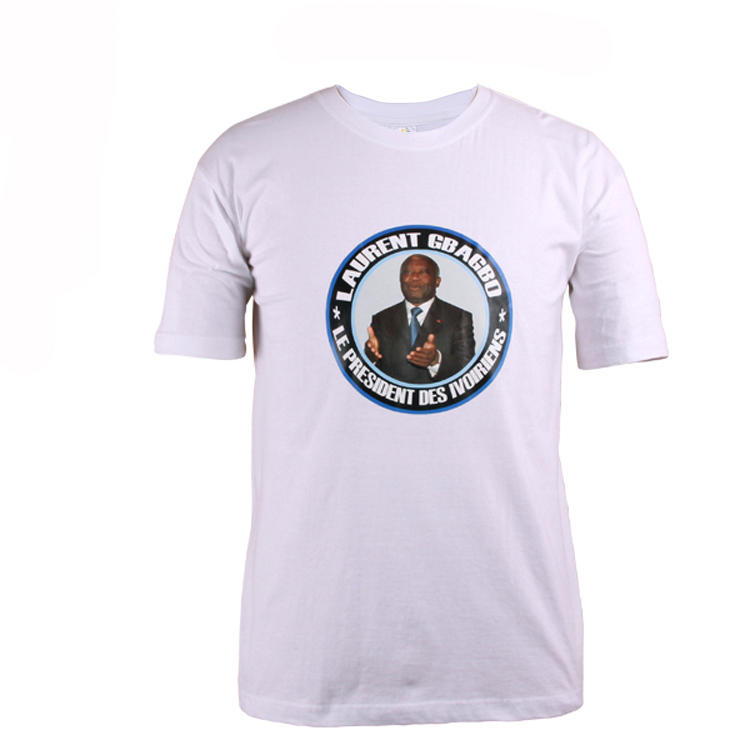 vote t shirt printing logo 100 cotton